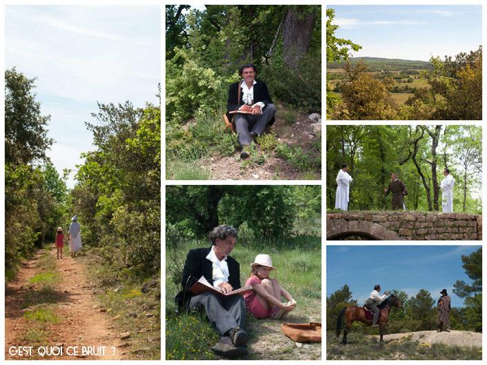 Balade sur les Terres de Saint-Hilaire (Var) en Provence Verte