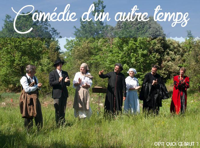 Balade théâtrale dans la forêt des Terres de Saint-Hilaire, idée de sortie en Provence Verte (Var)