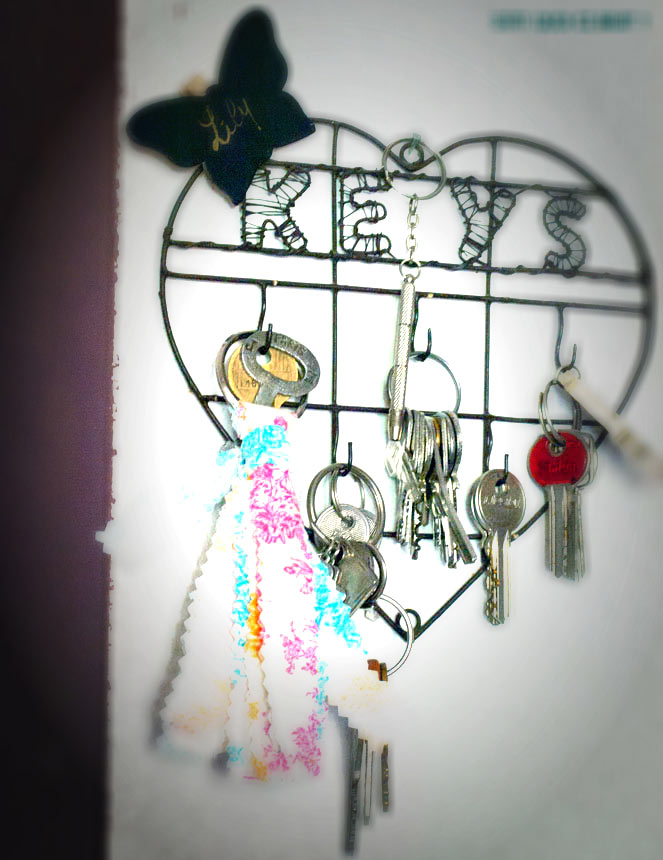 DIY facile : fabriquer un porte-clés en tissu