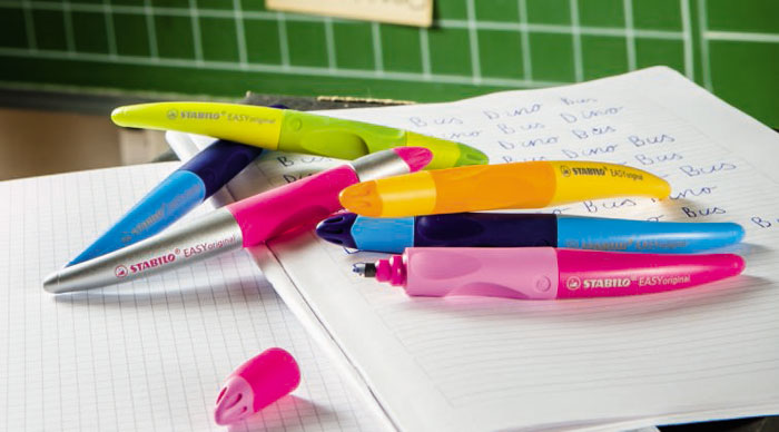Faciliter l'apprentissage de l'écriture avec Stabilo Easy original