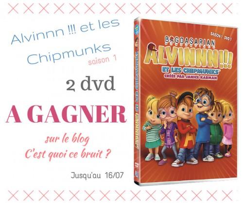 dvd Alvin et les Chipmunks