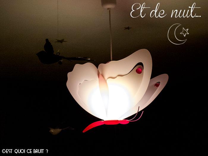 Un peu de poésie dans sa chambre de petite fille avec la suspension papillon RM Coudert