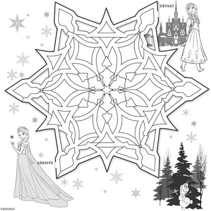 5 Activites La Reine Des Neiges A Imprimer on christmas snowman