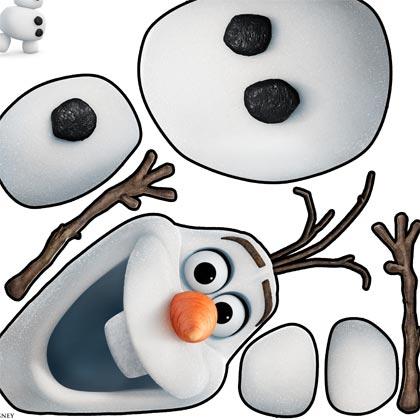 Activité à imprimer Olaf