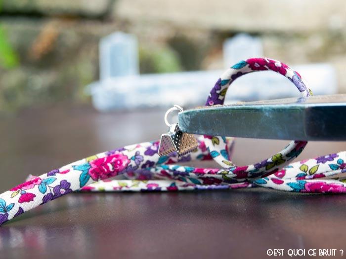Fabriquer un bracelet en liberty en 5 minutes