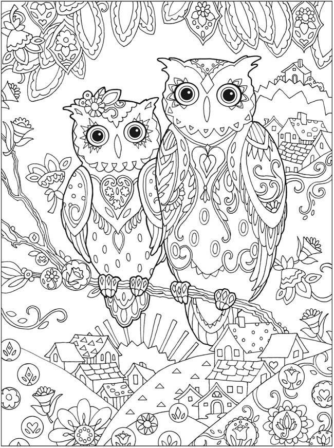 coloriage anti stress adultes imprimer