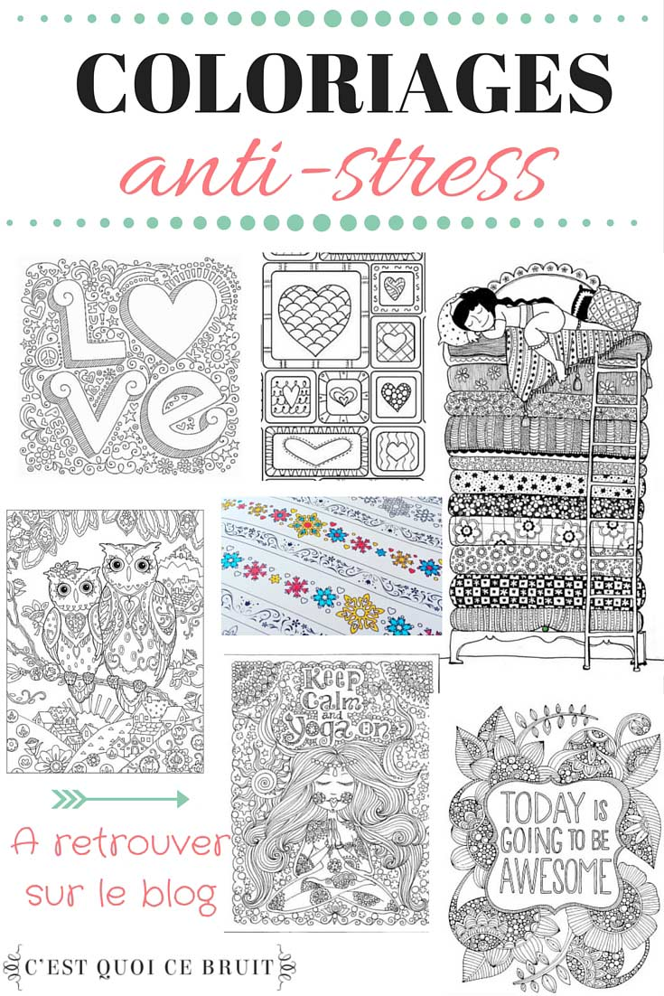 coloriage anti stress adulte zen