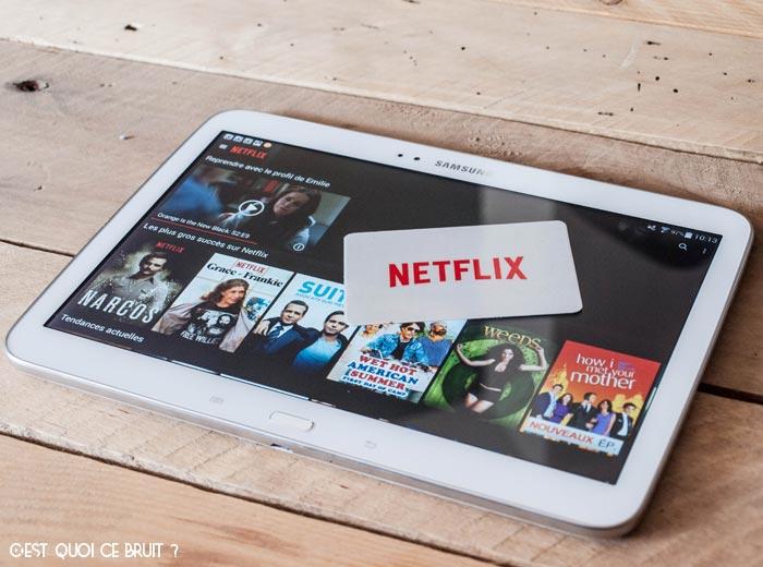 Mes séries préférées sur Netflix !