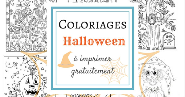 coloriage d 39 halloween imprimer gratuitement. Black Bedroom Furniture Sets. Home Design Ideas