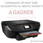 Gagne une imprimante HP Envy 5540