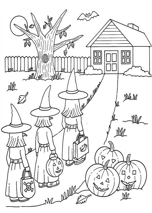 Meme coloring book coloring pages - Sorciere dessin ...