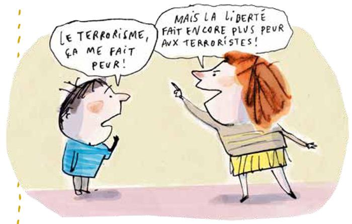 Parler des attentats terroristes de Paris aux enfants