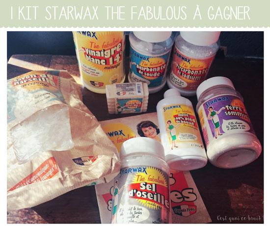 Starwax the fabuloux, produits naturels et astuces pour le ménage