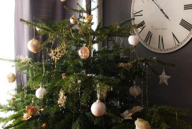 Le Noël des blogueuses 2015, décoration du sapin