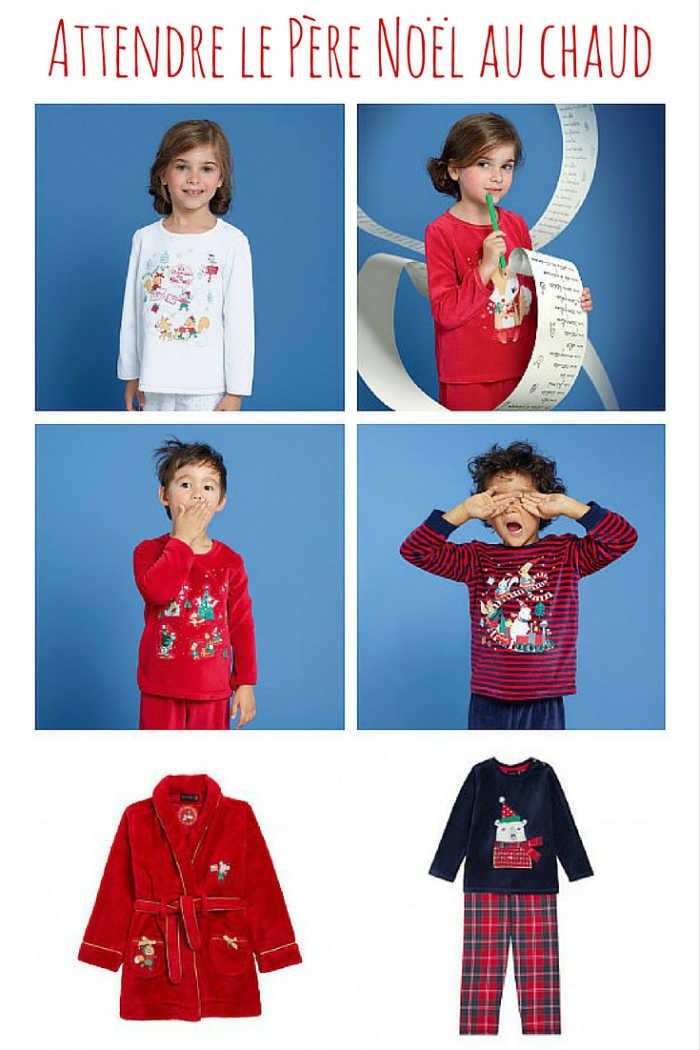 Les pyjamas de Noël