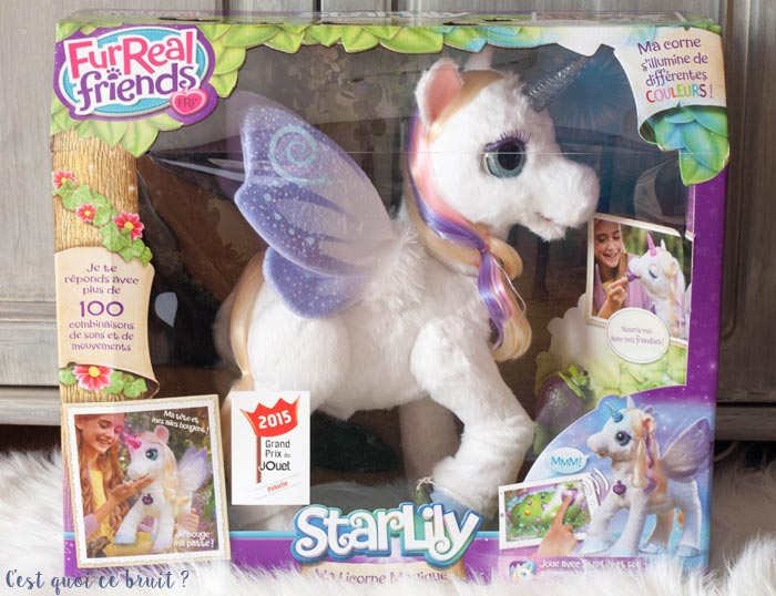 application starlily ma licorne magique