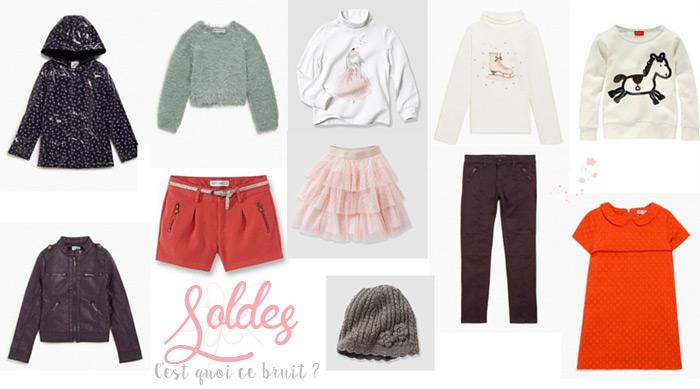 Mode fille, sélection soldes 2016