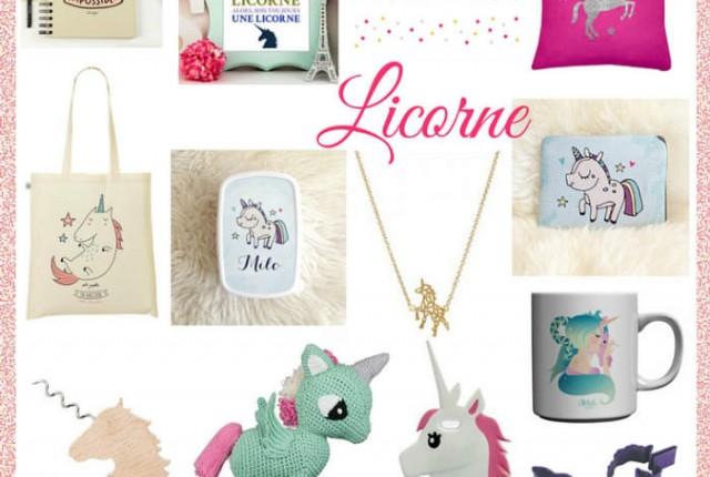 Achète-moi une licorne : sélection shopping wishlist licorne