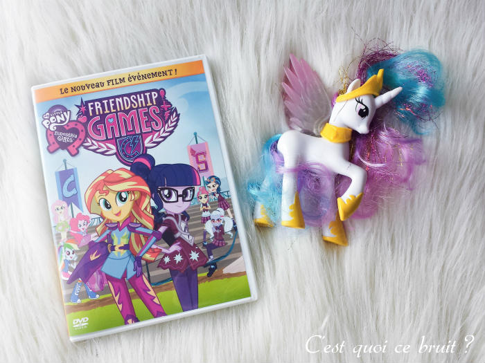 Concours DVD My little Pony Equestria Girl (Friendship Games)