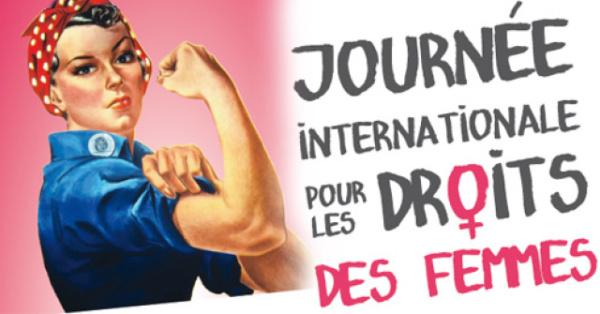 8 mars, la journée des droits des femmes