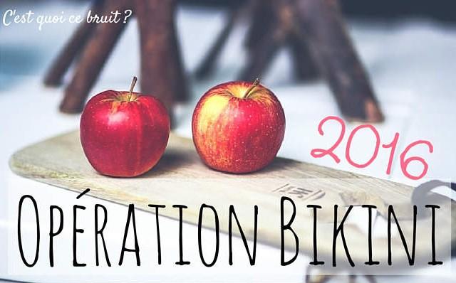 Opération Bikini 2016, groupe de motivation de régime pour maigrir ensemble