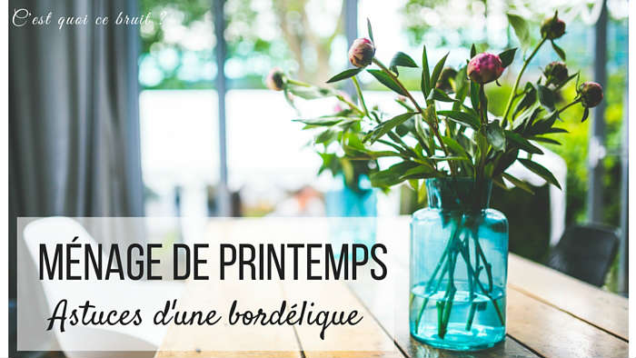 M nage de printemps astuces d 39 une bord lique - Le menage de printemps ...