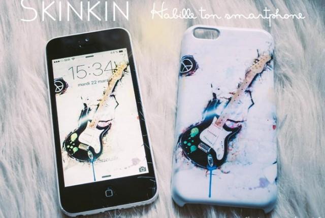 Skinkin habille l'iPhone du Gentil Mari ! #concours