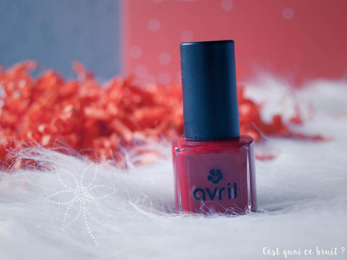 Biotyfull Box Ethique d'Avril : vernis