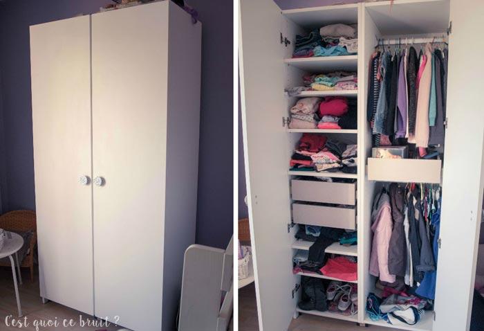 Une armoire sur-mesure pour la princesse !