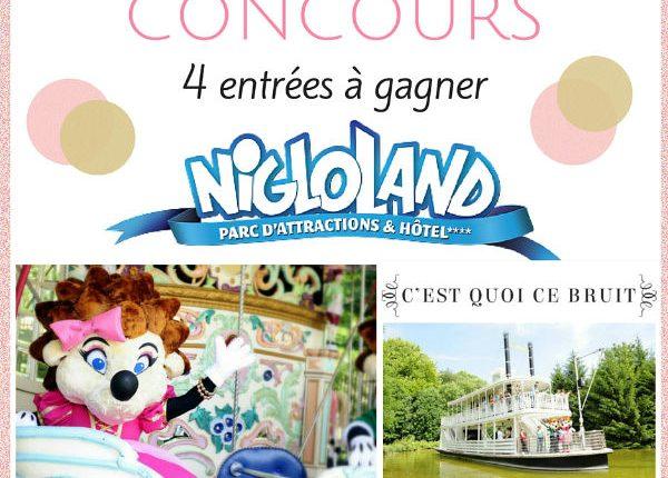 Nigloland 2016 entrées à gagner
