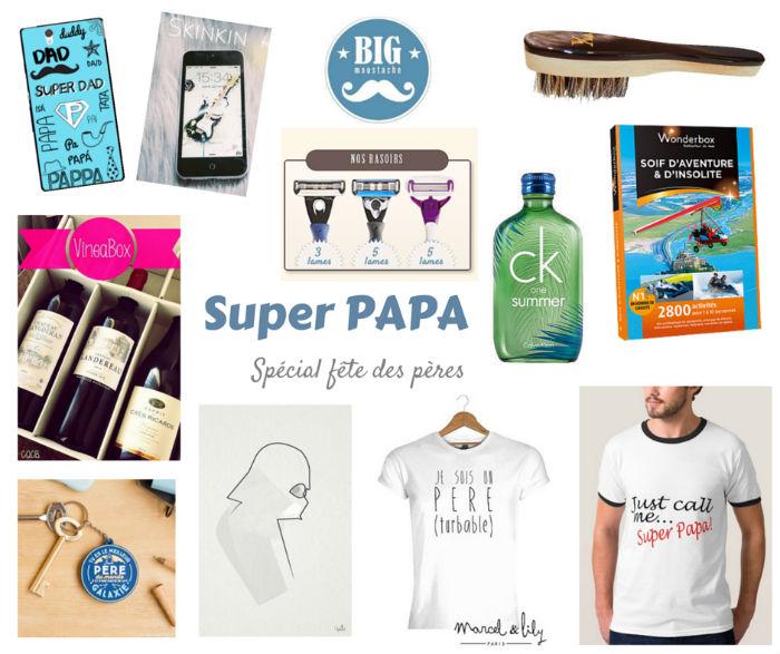 Idées cadeaux pour la fête des pères