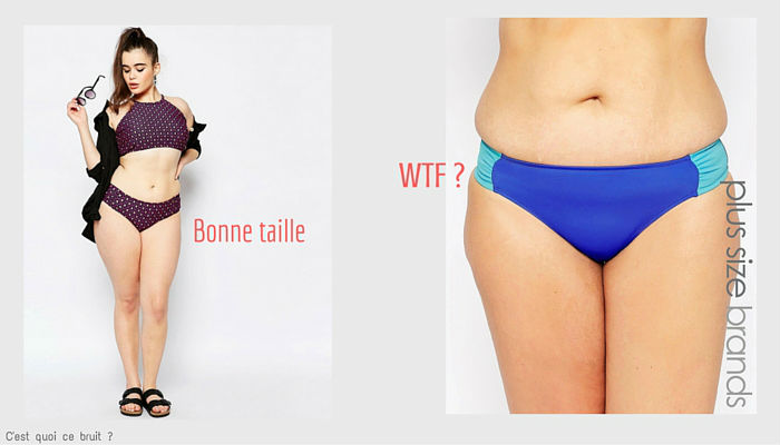 Maillot grande taille