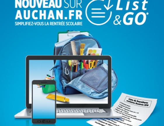 List&Go, la liste scolaire connectée