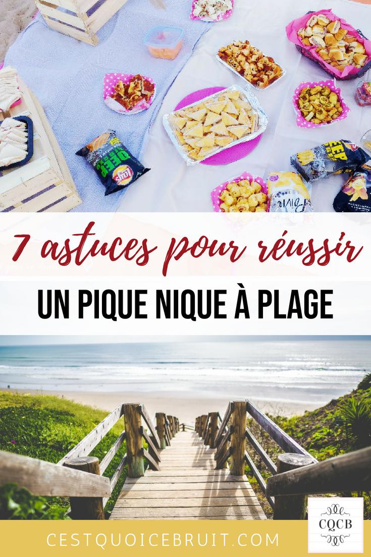 7 astuces pour réussir un pique nique à la plage #summerstyle #picnic #piquenique #anniversaire #birthday