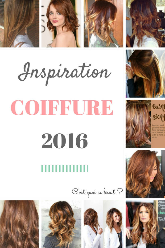 Inspiration coiffure 2016