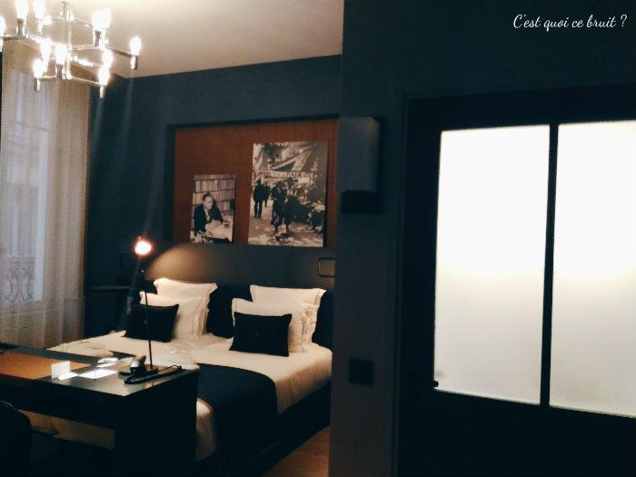 Une nuit à l'Hôtel Square Louvois à Paris : ma chambre Deluxe
