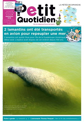 Magazine pour enfant : Le petit quotidien