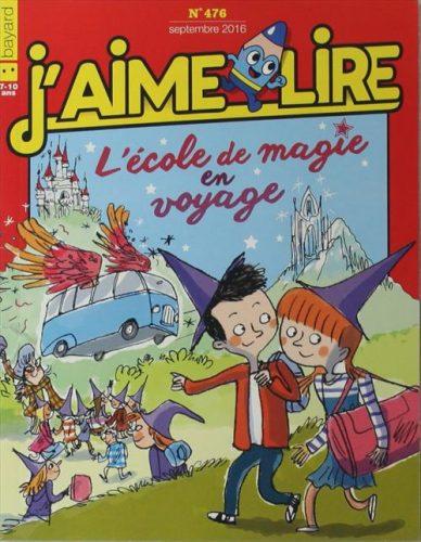 Magazine pour enfant : J'aime lire