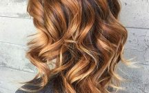 Ombre hair caramel et marron