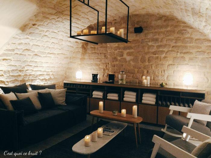 Une nuit à l'Hôtel Square Louvois à Paris : la tisanerie
