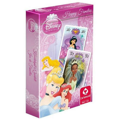 Jouer en famille : 7 familles princesses Disney