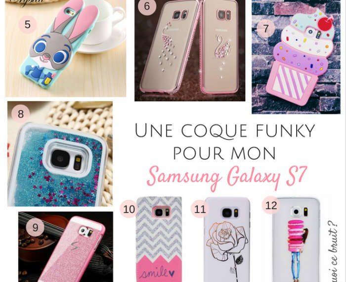 Une coque funky pour mon Galaxy S7 c'est possible ?