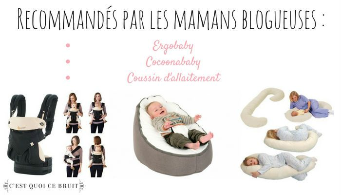 Liste des indispensables pour l'arrivée de bébé par 10 mamans blogueuses