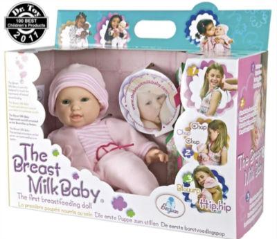 Jouets pourris : la poupée à allaiter