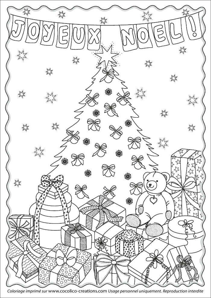 Special T Si >> Coloriages Noël à imprimer gratuitement