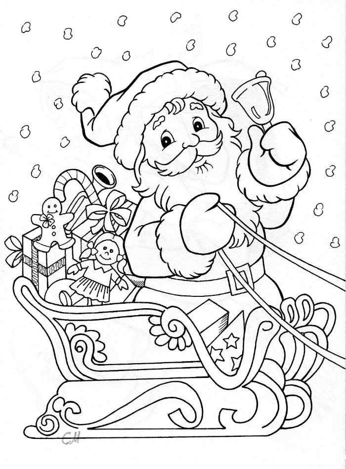 Coloriages Noel A Imprimer Gratuitement