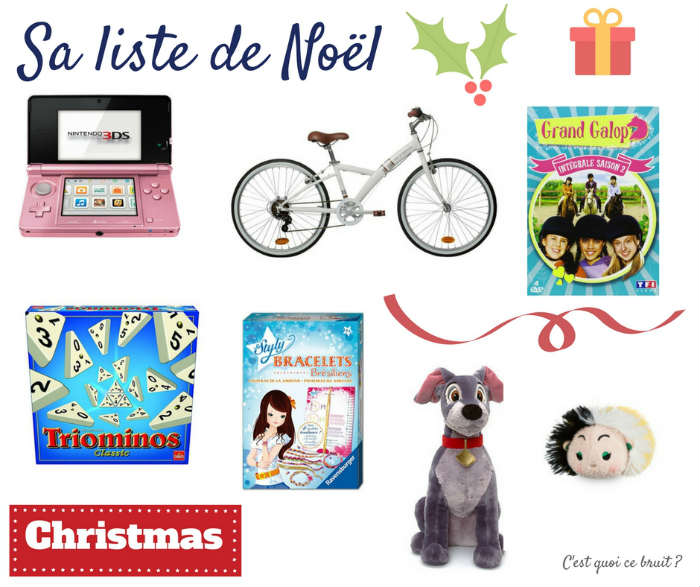 Sa liste de Noël