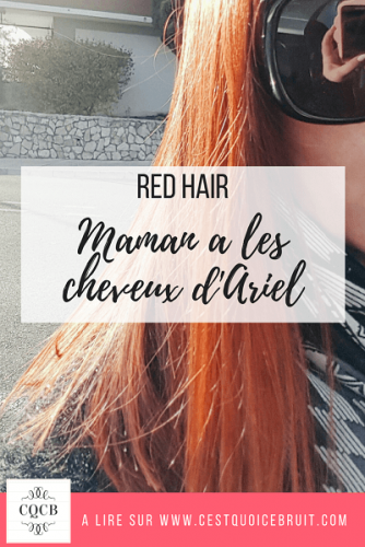 Coiffure red hair