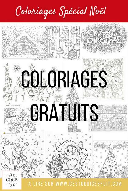 Blog famille : coloriages de Noël à imprimer gratuitement