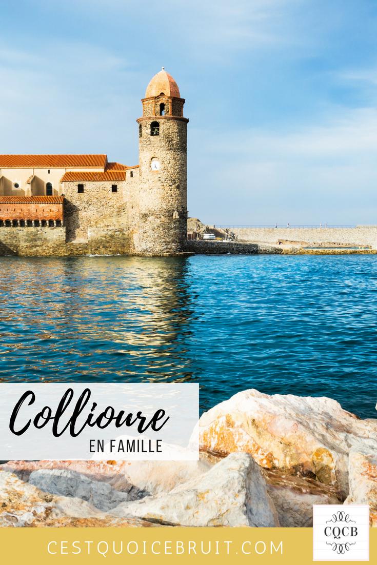 Voyage à Collioure (France) en famille #collioure #france #famille #voyage #travel